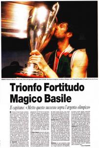 2005 trionfo fortitudo magico basile